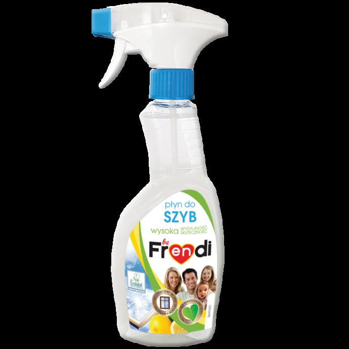 beFrendi ekologiczny płyn do mycia szyb o zapachu cytrynowym