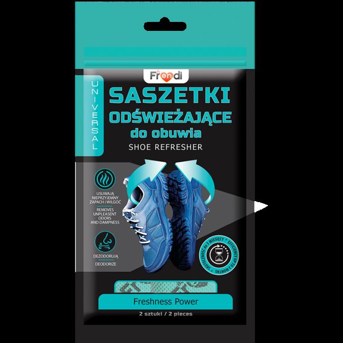 saszetka do obuwia, które neutralizuje nieprzyjemny zapach