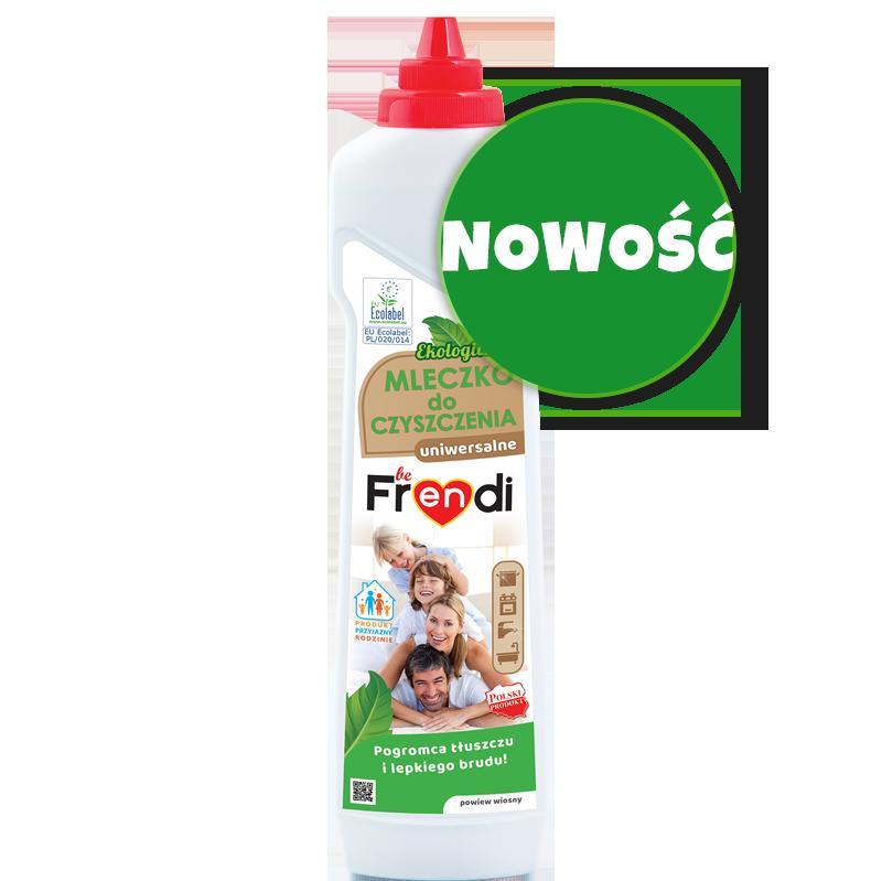 nowość mleczko uniwersalne do czyszczenia